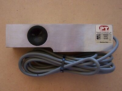 2500kg PT PRECISION SHEAR BEAM LOAD CELL S/S. BRAND NEW.