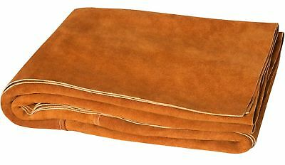 Steiner 321-6X6 Side Split Cowhide Leather Welding Blanket, 6' x 6' 6' x 6' New