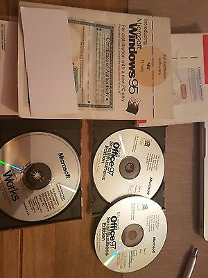 Microsoft Windows 95 Certificate Of Authenticity
