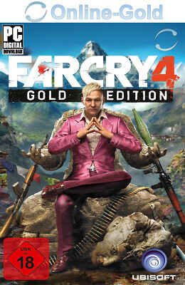 Far Cry 4 - Gold Edition Uplay/Ubisoft Download Code - PC Online Game Key Neu DE