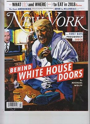 Donald Trump New York Magazine January 8 2018 No Label Behind White House Doors