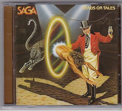Saga - Heads Or Tales RARE CD! FREE SHIPPING!