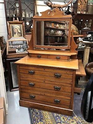 Nice Looking Edwardian Dressing Table. Open To  Offers.