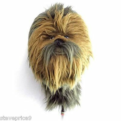 New Official Star Wars Chewbacca Golf Driver Cover.