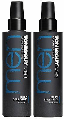Toni & Guy Men Messy Salt Spray, 200 ml (2pack)