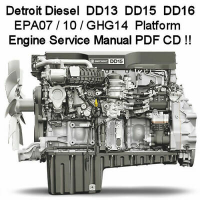 DETROIT DIESEL DD15 EPA07 Engine Troubleshooting Diagnostic Manual