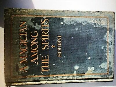"""Harry Houdini 1924 book:""""A Magician Among The Spirits"""" First Edition RARE"""