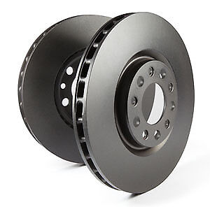 EBC Replacement Front Solid Brake Discs for Ford Capri Mk2 2.3 (74 > 77)