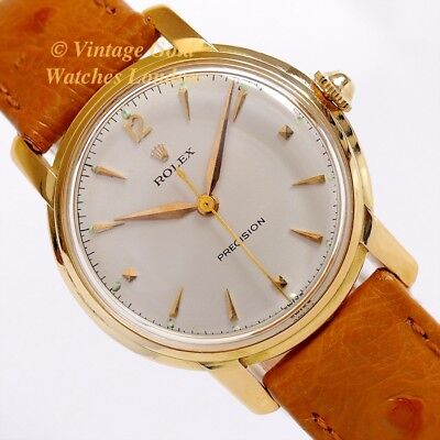 Rolex Precision 18K, 1953, Ladies Watch - Absolutely Delightful And Immaculate!