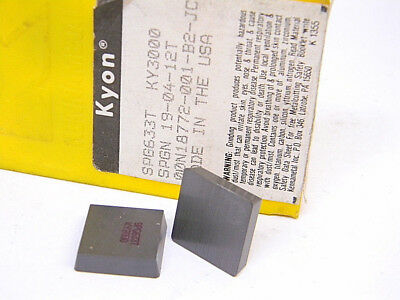 SNG 633T 5 INSERTS KENNAMETAL CERAMIC INSERTS Y3000