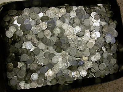 Barber 90% Silver Quarters $300.00 Bag Face Value (1200 Barber Quarters)