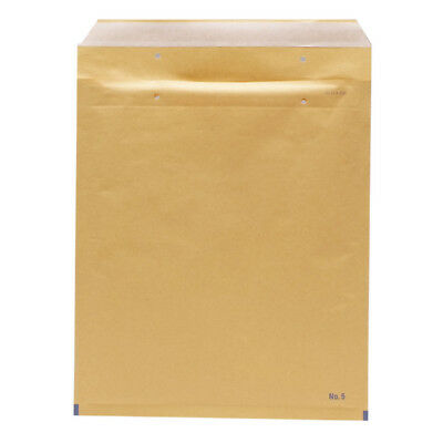 Go Secure Size 5 220x265mm Brown Bubble Lined Envelopes (Pack of 100) ML10050