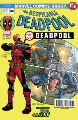 Despicable Deadpool #287 2nd Print Marvel Amazing Spider-Man #129 Homage Variant