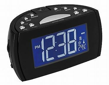 Radio Reloj Despertador Denver Crp-514 Display