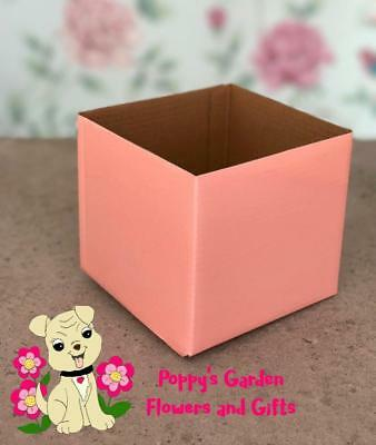 Florist Posy Gift Box Light Pink x 5