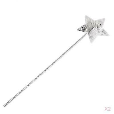 Magic Fairy Glitter Star Wand Princess Assorted Color 12 Pack Costume Accessory