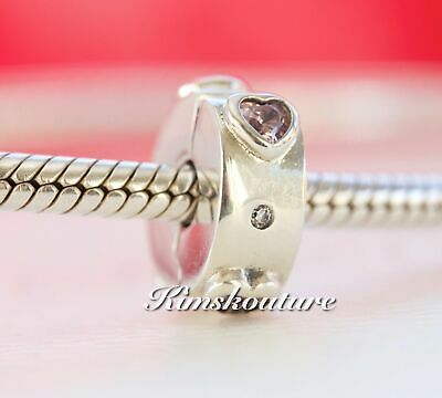 780ea4297886 AUTHENTIC PANDORA EXPLOSION of Love Clip Charm Pink CZ 796591FPC ...