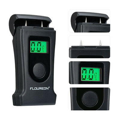 2X Floureon Wood/Building Moisture Meter Green Color Backlight LCD High Accuracy