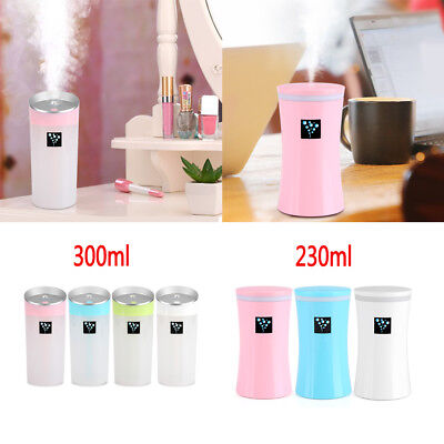230ML/300ML USB Color Changing LED Humidifier Aroma Oil Diffuser Ultrasonic Home