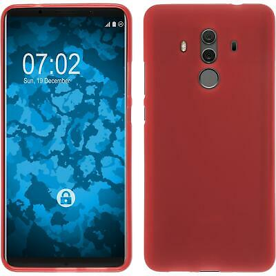 COQUE EN SILICONE Huawei Mate 10 Pro - mate rouge Cover