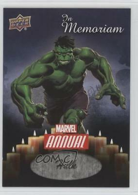 2016 Upper Deck Marvel Annual In Memoriam #IM-4 Hulk Non-Sports Card 1i7