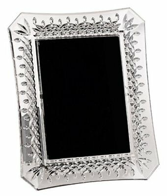 "Waterford LISMORE Crystal Photo Picture Frame 5x7"" #107750 New MSRP$165"