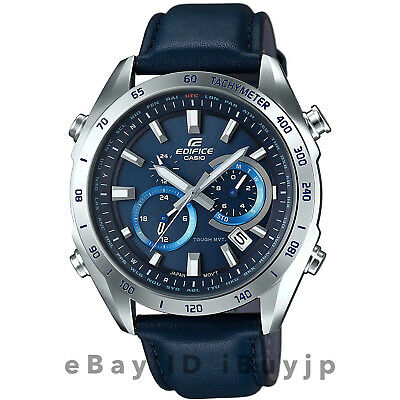 25a9203fe377 CASIO EDIFICE MODEL 2719 WATCH BLUE DIAL Japanese Movement WR 100M ...