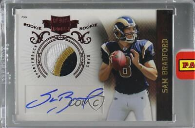 2010 Plates & Patches #232 Sam Bradford St. Louis Rams Auto Rookie Football Card