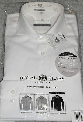 ROYAL CLASS SELECTION SLIM FIT, BODY FIT Premium Hemd KW