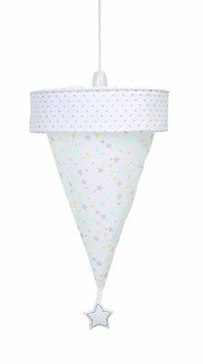 East Coast Silvercloud Counting Sheep Uplighter Lampshade