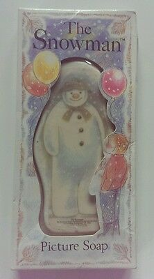 Vintage Snowman Picture Soap***brand New In Original Box***best Offer***