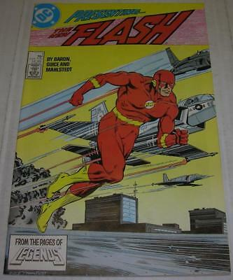 FLASH #1 (DC Comics 1987) NEW TEEN TITANS & VANDAL SAVAGE appearance (VF-)