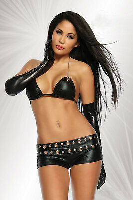 Wetlook Hot-Pants Set von SARESIA