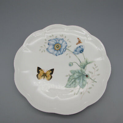 SET OF FIVE - Lenox China BUTTERFLY MEADOW Accent Plates