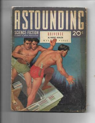 Astounding Science Fiction May 1941 Pulp Issac Asimov Story!