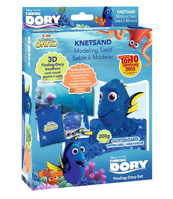 2x FINDING DORY Craze Magic Sand Set 200g Glitzersand Förmchen NEU