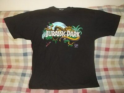 Vtg Rare Unworn 1993 JURASSIC PARK T-SHIRT Size XL Made In USA