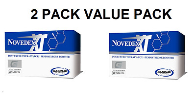 Gaspari Novedex XT Post Cycle Therapy (PCT) 1 or 2 Pack - FRESH NEW STOCK!!