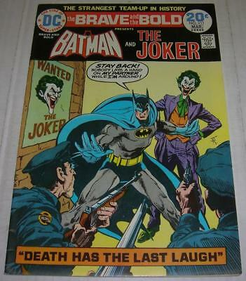 BRAVE AND THE BOLD #111 (DC Comics 1974) BATMAN & JOKER story (FN+)