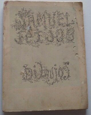 "1961 ""dibujos"" Samuel Feijoo First Edition Drawings Cuba Art Catalog Rare"