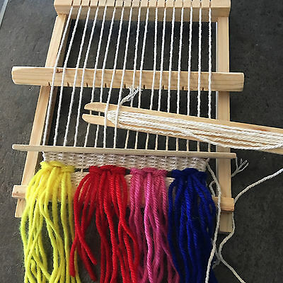Loom Weave Kit - Junior/Starter Kit - beginner/loomwork/weaving/kids/shuttle