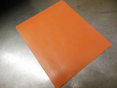 "NEW 3/16""Silicone Rubber Sheets 8.5""x10.13"" Food Grade High Temp gasket material"