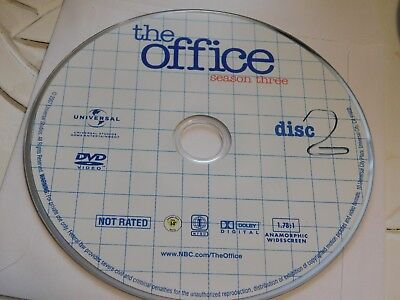 The Office Third Season 3 Disc 2 Replacement DVD Disc Only 42-91
