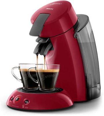 Cafetera Express Philips Hd6555/82 Senseo Roja