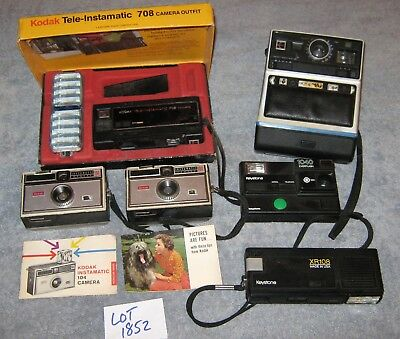 Lot of Six (6) Vintage Cameras – Kodak Keystone