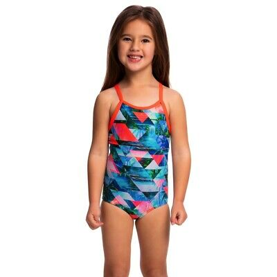 Funkita Split Scene Toddler Girls Printed One Piece , Toddler Girls One Piece Sw