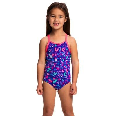 Funkita Swim Swim Toddler Girls Printed One Piece , Toddler Girls One Piece Swim