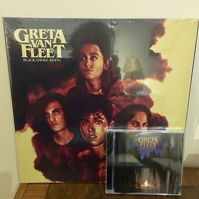 Greta Van Fleet Vinyl Ep Black Smoke Rising Highway Tune, And From The Fires Cd