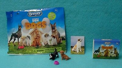 Breyer Pocket Box Dogs Toller And Bernese Mountain Dog New 2016