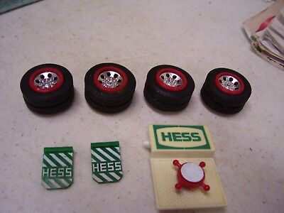 HESS Gasoline Toy Truck Parts Tires Original Parts 1987  OEM Mud Flaps